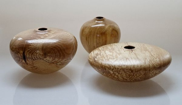 Ash, birch and beech - spalted