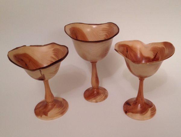 Yew goblets