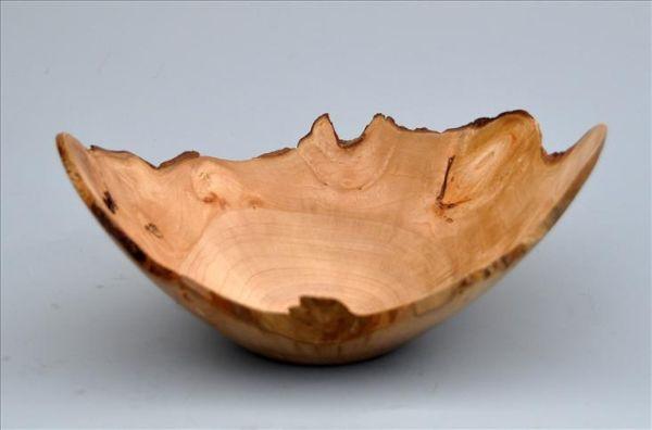 Sycamore natural edge bowl