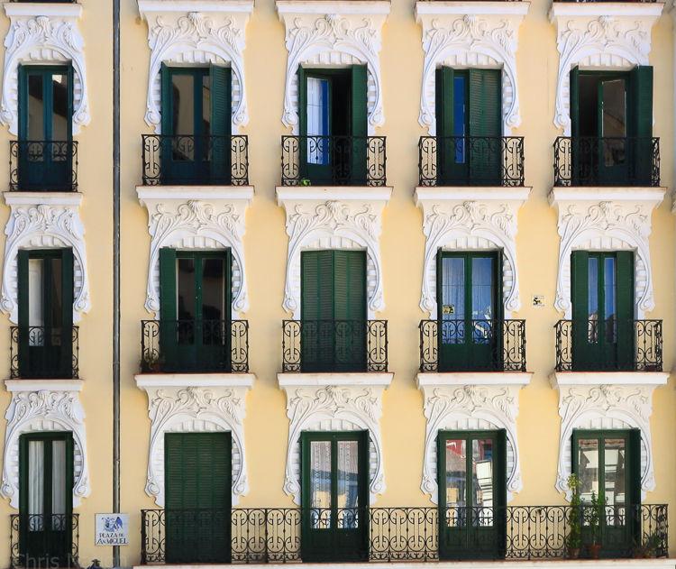 Balconies. Madrid. SP. NR20