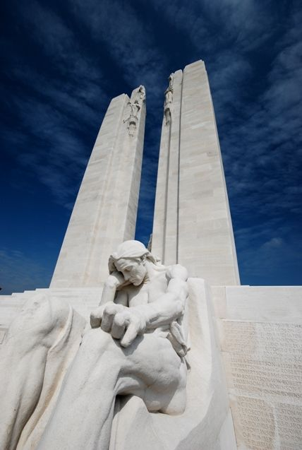 Canadian National Memorial. WW1. Vimy. FR