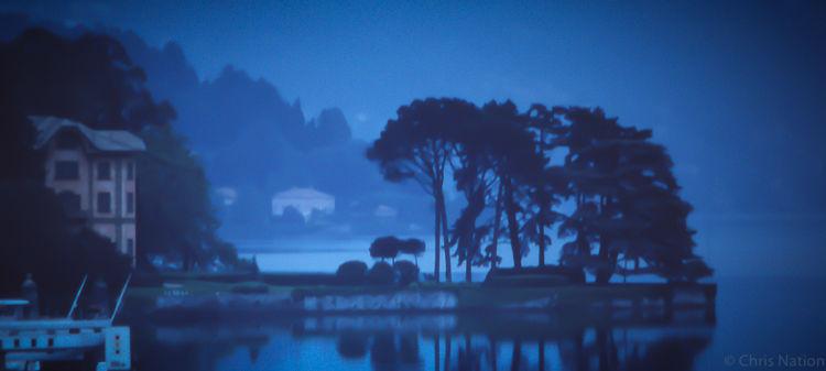 Dawn. Lake Como. Italy.NR100