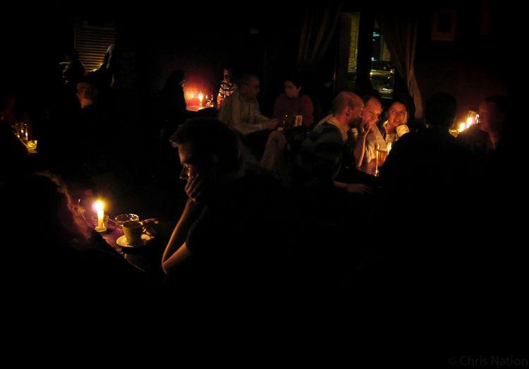 'Dostoyevsky's Kitchen' bar. Krakow. PL. NR35