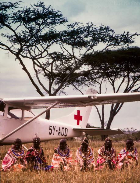 East Africa Flying Doctor Service. Nairobi. Kenya