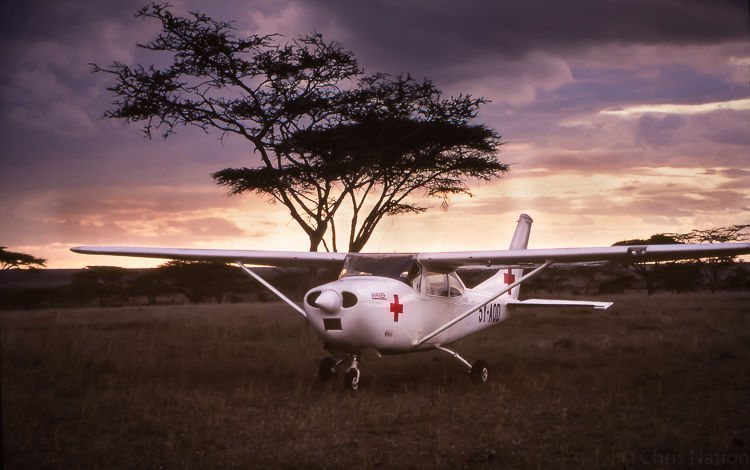 Flying doctor Service 4. Nairobi. Kenya. NR25