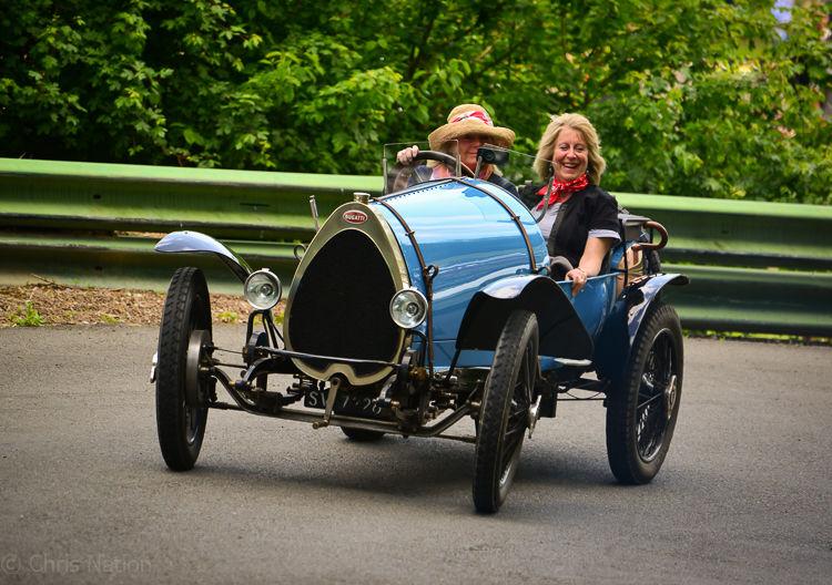 HC Bugatti. Prescott Hillclimb. Glouc. ENG. NR15