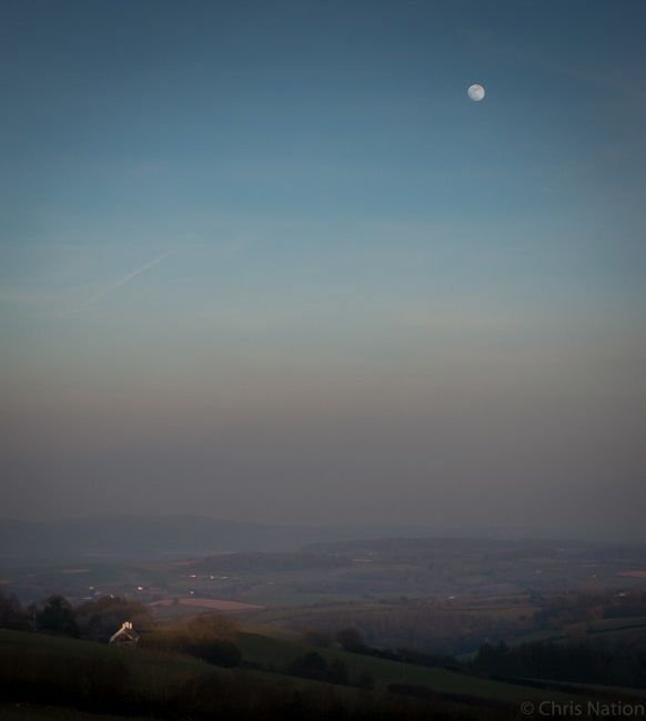 Landscape. Somerset. England