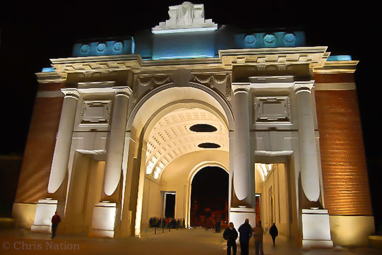 The Menin Gate. Ypres. BE. NR20