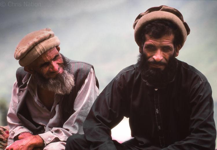 Pathan Tribesmen 3. NWFP. Pakistan.NR20