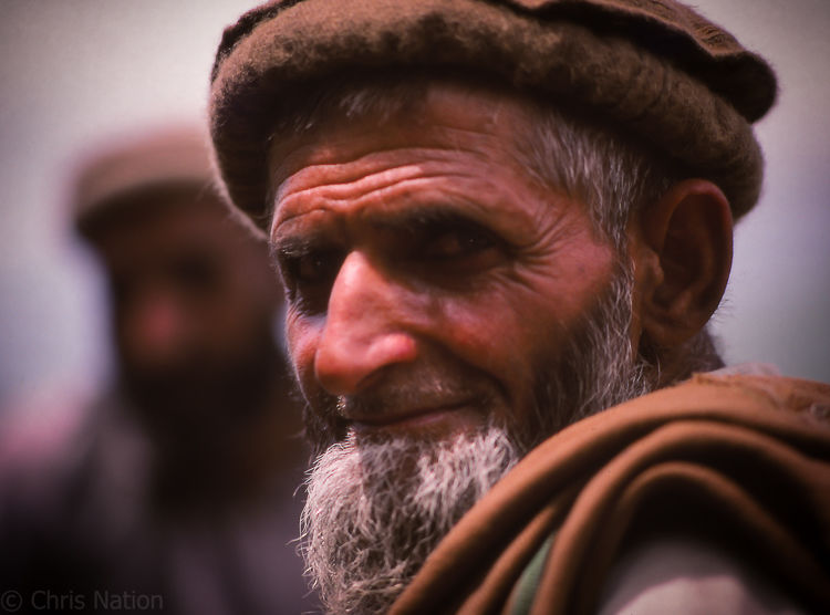 Pathan tribesman 2. NWFP. PAK.NR20