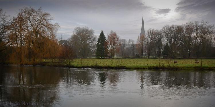 Salisbury Cathedral Xmas Eve 1-0914