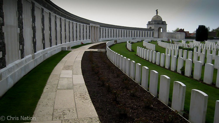 Tyne Cot Cemetery. Ypres. BE. NR30