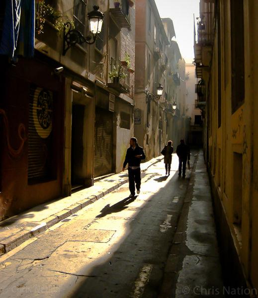 Alleyway. barrio El Carmen. Valencia. SP
