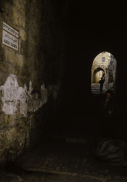 Via Dolorosa. Jerusalem. Israel