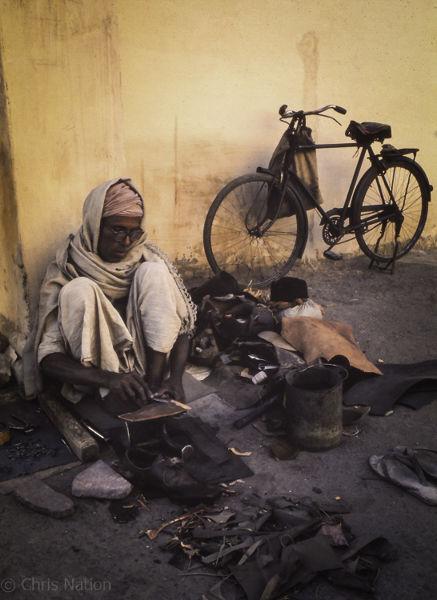 Cobbler. Delhi. India