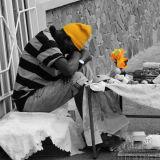 Dominican Street Seller