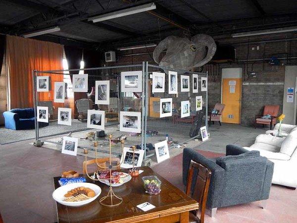 <b> photographic exhibition, derelict places</b>
