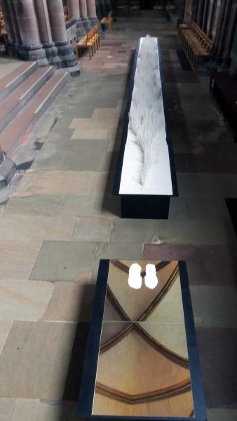 <b> installation Last Steps, Carlisle Cathedral</b>
