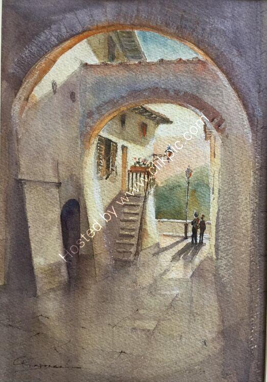 Pretty Vicolo in Montepulciano
