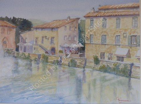 Bagno Vignoni Hot Springs