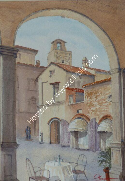 Castiglione Fiorentino Table for 2 ready