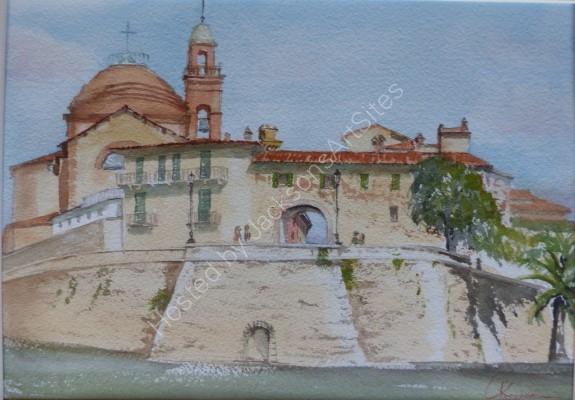 Castiglione del Lago, walls and Senese gate