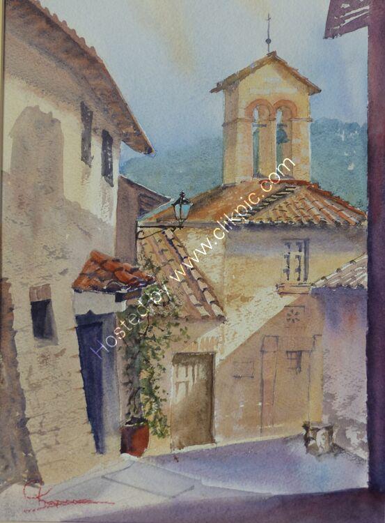 Corciano Village Umbria