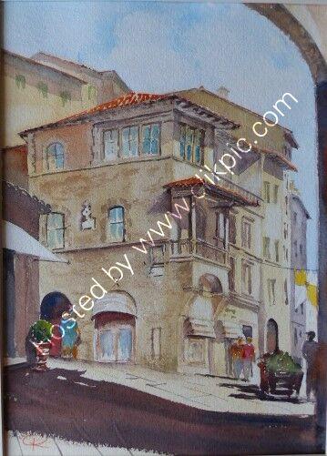 Cortona Piazza Republica & Shops
