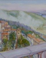Cortona to Lago Trasimeno