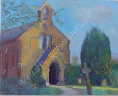 Holy Trinity Church Sibford Gower Oxfordshire