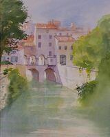 Il rio di Mantova Italy