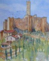 Montechio Castello Castiglione Fiorentino