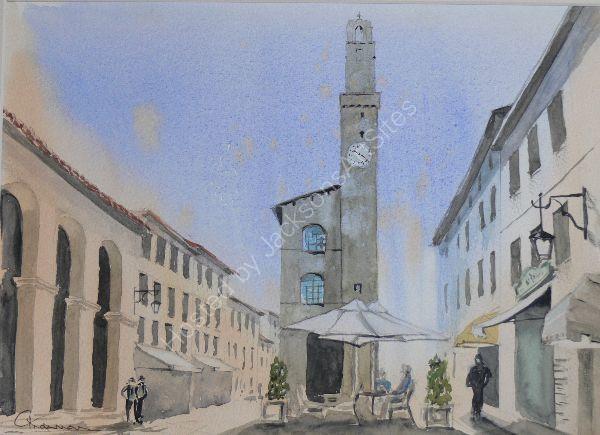 Piazza De Popolo Montalcino