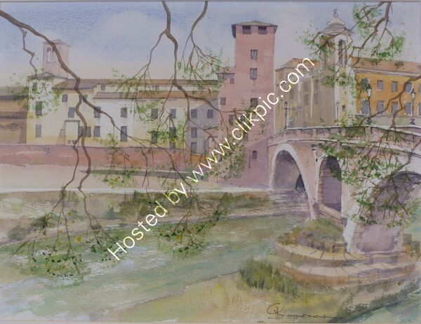 Ponte Fabricio Rome Italy