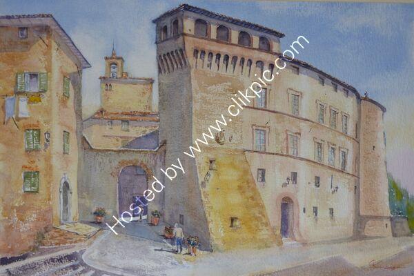 Porta Fiorentina, Panicale, Umbria