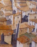 Rooftops of Aragno Abruzzo