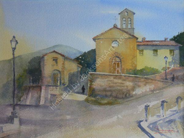 San Carlo Church Torreone Cortona