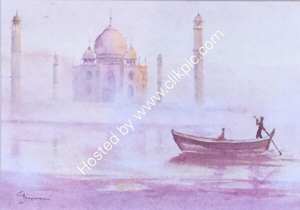 Taj Mahal, a Regal Visit