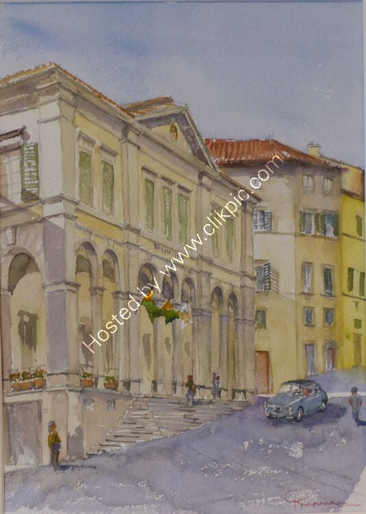 Teatro Signorelli Cortona Tuscany