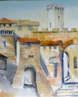 Umbrian architecture abstract