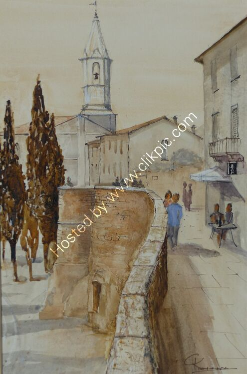 Pienza City Walls