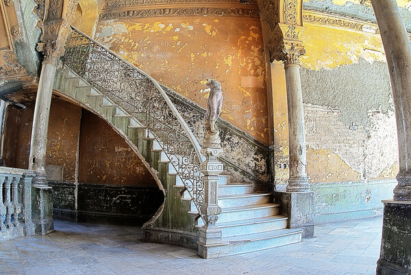 Angel staircase Havana Cuba