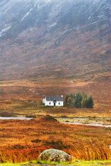 Glen Coe lone house
