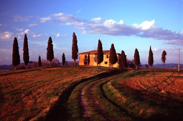 Pienza farmhouse Italy