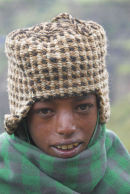 Young boy, Simien Mountains