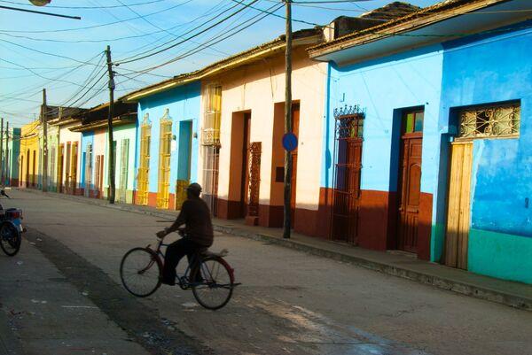 Trinidad street Cuba