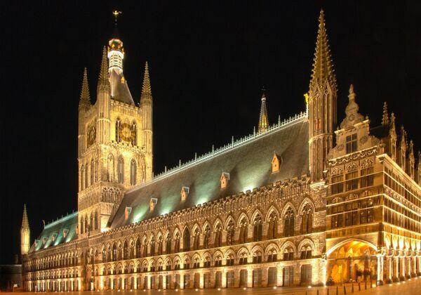 Ypres cloth hall Belgium
