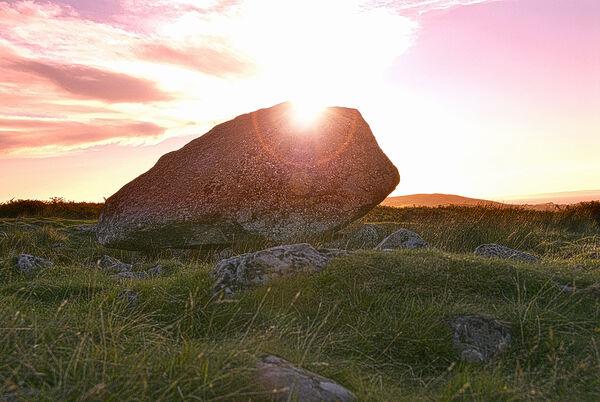 Arthurs stone Gower Wales