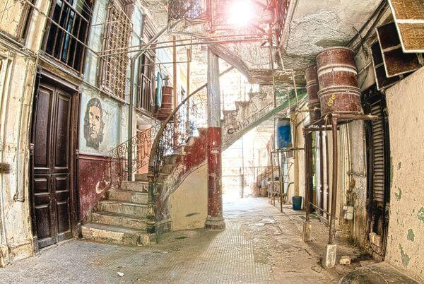 Basement flats Havana Cuba