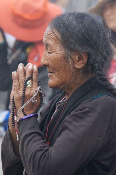 Jokhang Pilgrim Tibet
